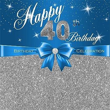 Amazon.com: 40 fondos de cumpleaños para fotografía 5 x 7 ...