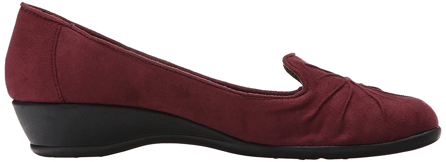 Soft Style by Hush Puppies Women's Rory US|Wine Flat B00V6XM9PE 8.5 B(M) US|Wine Rory Faux Suede 666fb0