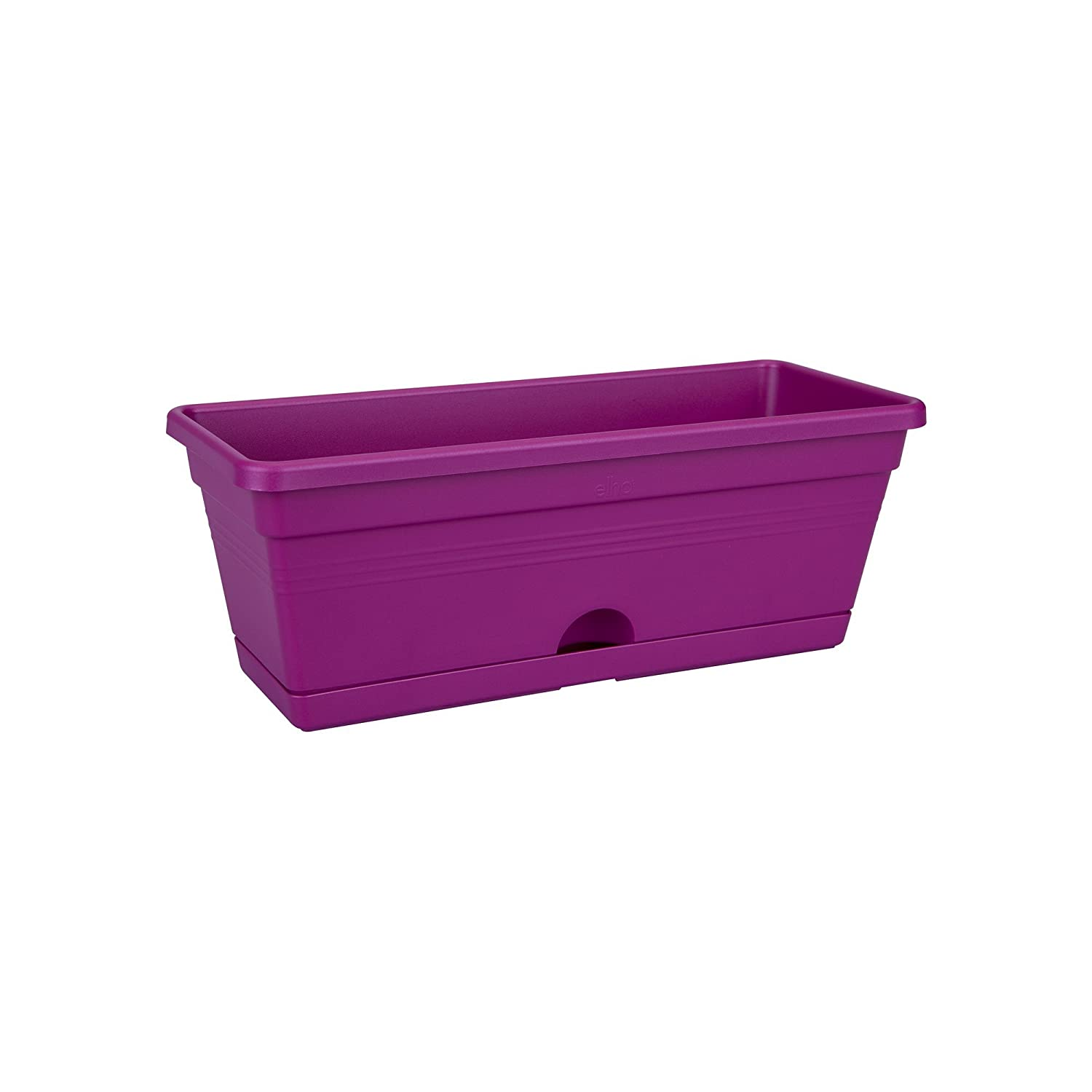 Elho 6821162923500 30 cm Green Basics Mini Balcony Trough - Cherry Red