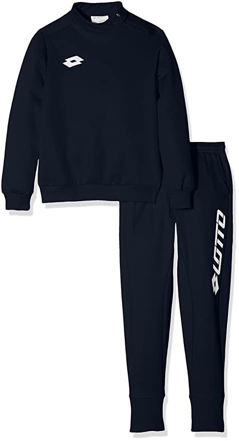 Lotto Kinder Trainingsanzug Suit Zenith EVO HZ Rib JR Blau S