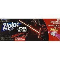 Ziploc Disney Avenger Quart Storage Slider Bag, 30 count