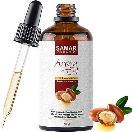 Aceite de argán de Marruecos, calidad prémium, 100 % puro y orgánico, certificado