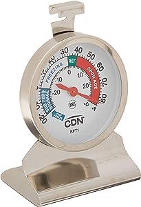 CDN RFT1 Proaccurate Heavy Duty Refrigerator Freezer Thermometer, ProAccurate Heavy Duty Refrigerator/Freezer Thermometer