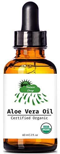 Nature Drop's USDA Organic Aloe Vera Oil