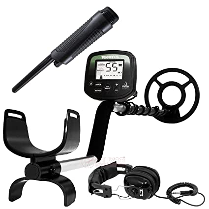 "Teknetics Delta 4000 Metal Detector w/ 8"" Submersible Coil Plus Accessory Package"