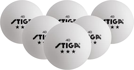 STIGA Twelve 3-Star Table Tennis Balls