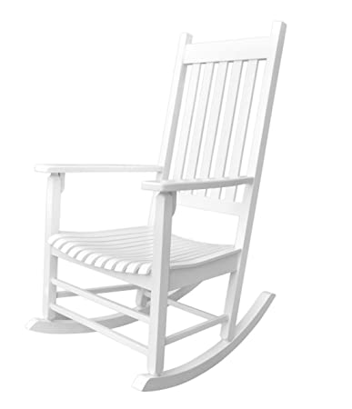 Superior Amazon.com : Shine Company Vermont Porch Rocker, White : Garden U0026 Outdoor