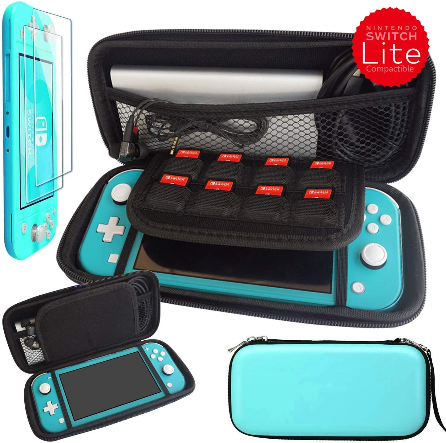 Kaya Switch Lite Carrying Case for Nintendo Switch Lite 2019, EVA ...
