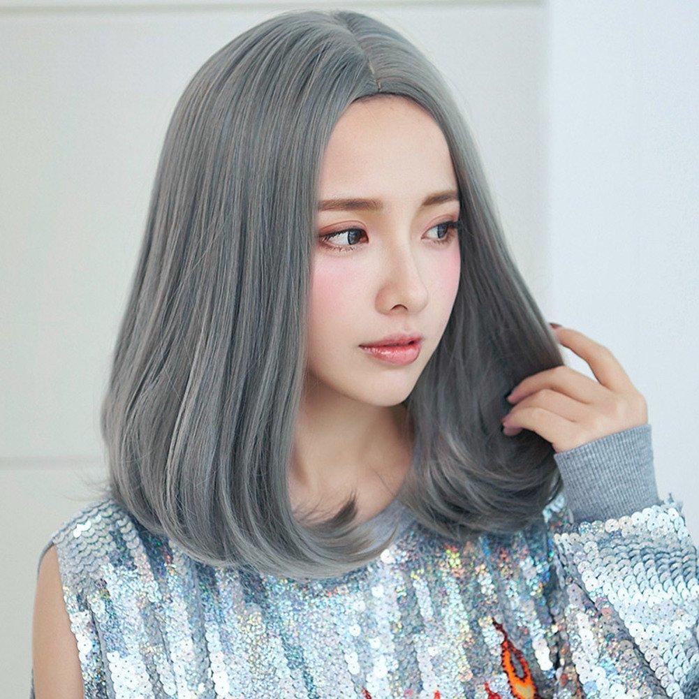 hombro-hebilla en una peluca/Naturalmente rizado pelo/Micro-hebillas y pelo esponjoso-A