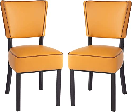 KARMAS PRODUCT Set of 2 Upholstered Dining Chair