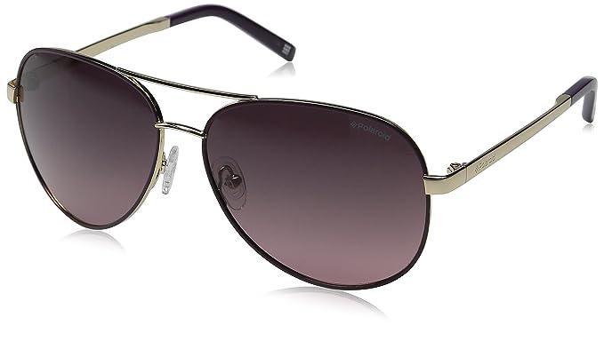 Polaroid PLD 4000/S JR S9E, Gafas de Sol para Mujer, Dorado Violet
