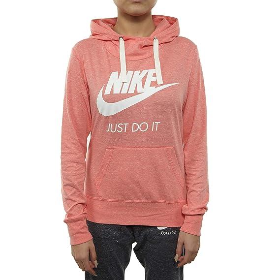Huge Deal on Nike Gym Vintage Logo Hoodie Womens Style : 914414