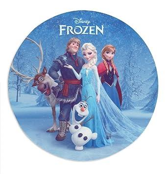 Amazoncom Frozen Cake Topper Sven Kristoff Anna Elsa