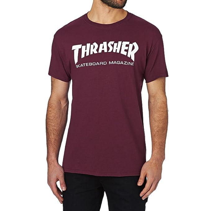 89c24c081f31 Amazon.com  Thrasher T Shirt Skate Mag Short Sleeve T-Shirt  Clothing