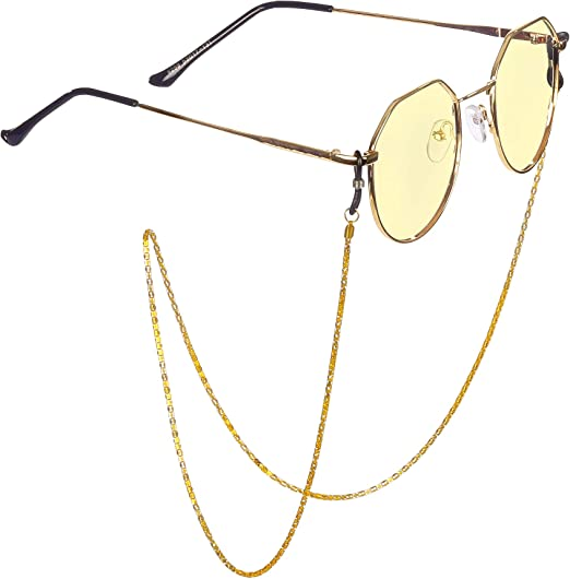 ,multi-color fashion eyewear cord chain glasses//glasses chain//glasses line//sunglasses chain neck lanyard//glasses frame neck rope. Eyeglass Chain 12 Pcs