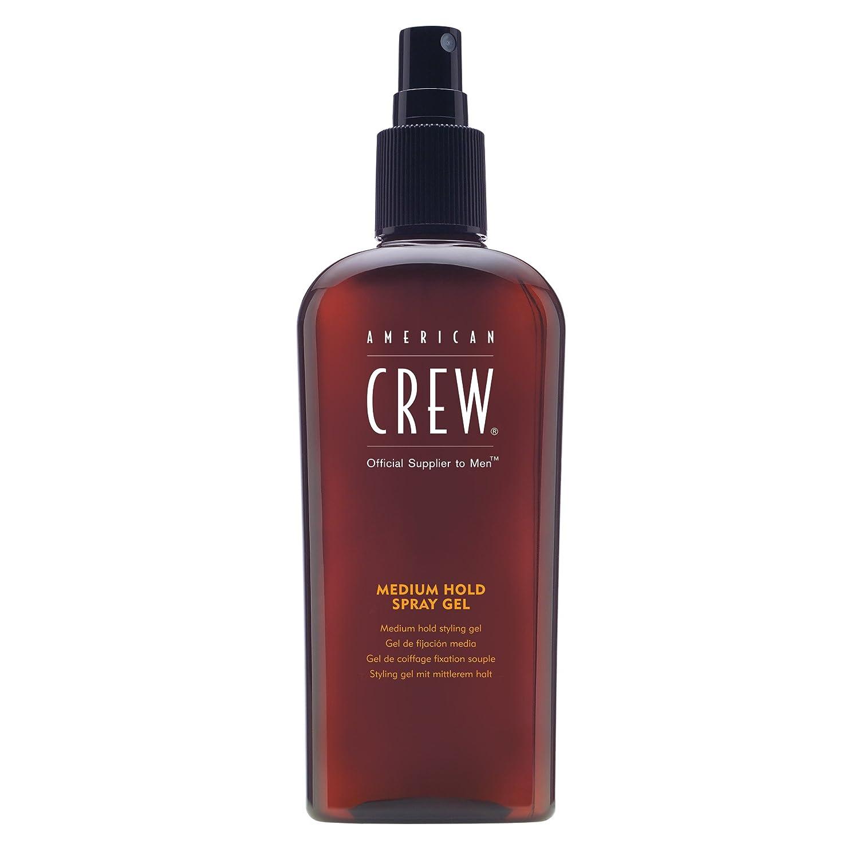 Spray Gel - Medium Hold by American Crew for Men - 8.45 oz Gel Revlon Professional 43319