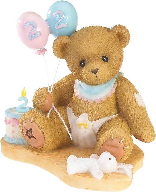 Amazon.com: Enesco Cherished Teddies 2 años de edad Feliz ...