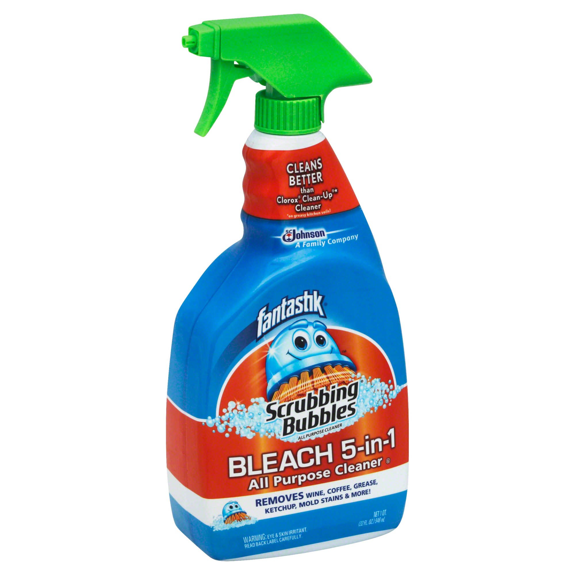 Fantastik 32 oz. Scrubbing Bubbles Bleach 5-in-1 Cleaner