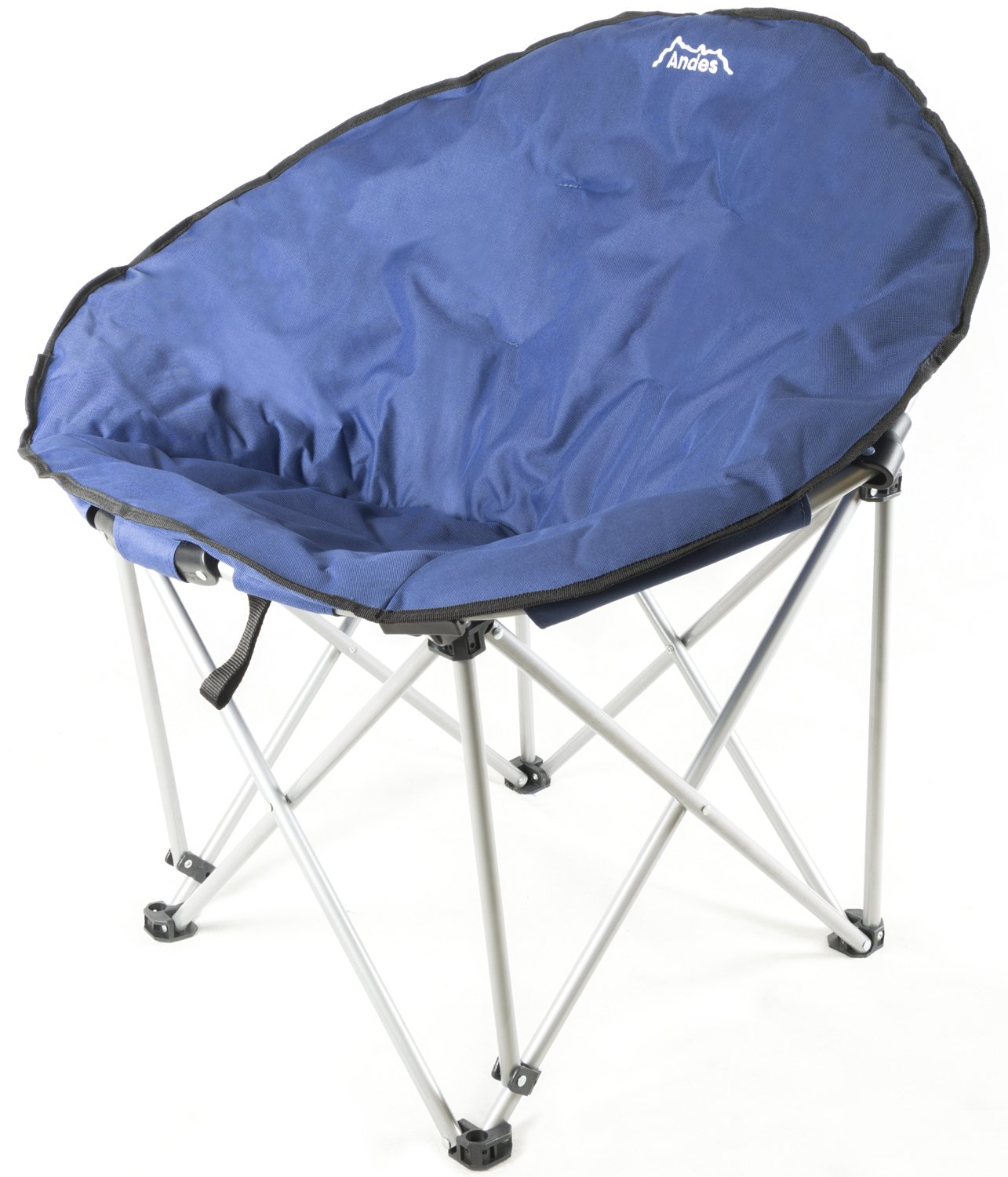 Andes Folding Camping Moon Chair Outdoor Garden Picnic Lounger