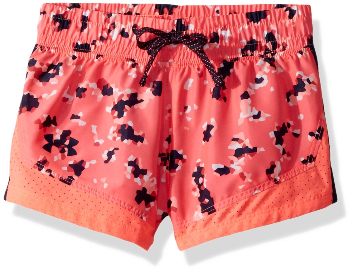 Under Armour Girls Sprint Novelty Shorts, Brilliance /Academy, Youth Small by Under Armour