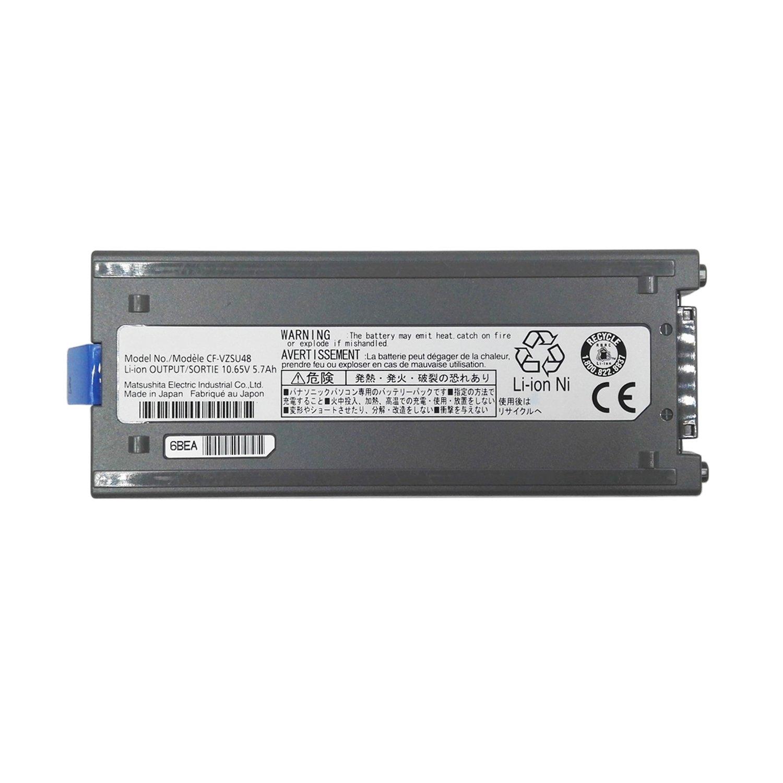 Wee CF-VZSU48U Laptop Battery Replacement for Panasonic Toughbook CF-19 CF19 Cf-VZSU28 CF-VZSU48 CF-VZSU50 [ 10.65V 5700mAh ]