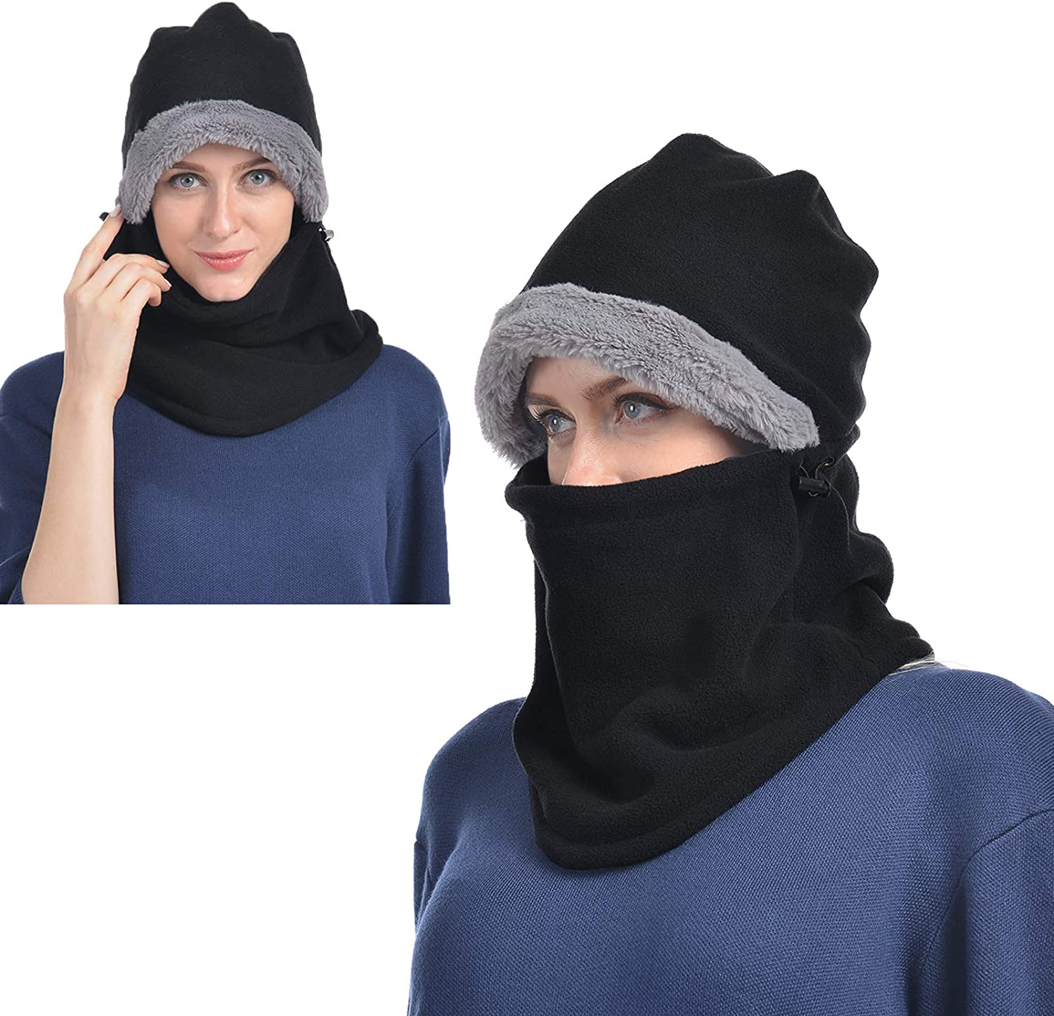 Details about  /Warm Head and Face Mask Winter Hat 1Hole Balaclava Hood Cycling Breathable Cover