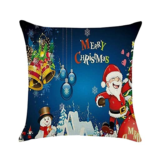 Siennaa Navidad Almohada Set, Merry Christmas Rudolph Reno ...