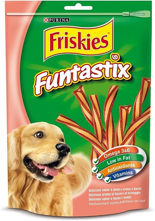 Purina Friskies Funtastix Golosinas y Chuches para Perros - Pack ...