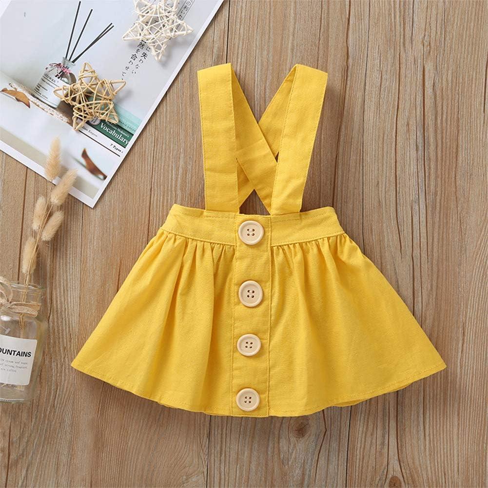 IBTOM CASTLE Polka Dots Tutu Costume for Baby Girl Princess 1st Birthday Party,Dress Up w//Overall Suspender Skirt,Headband