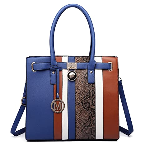 Damen-accessoires Handtasche Damen Aktentasche Schultertasche Tote Bag Pu-leder Kleidung & Accessoires