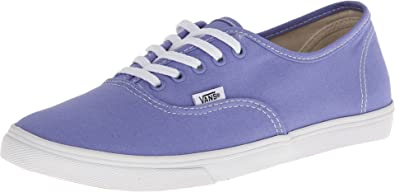 cc120e5f0757 Vans Womens Authentic Lo Pro Skateboarding Shoes Jacaranda True White 5  B(M) US
