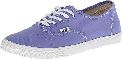 9e650dfa4748 Vans Womens Authentic Lo Pro Skateboarding Shoes Jacaranda True White 5  B(M) US