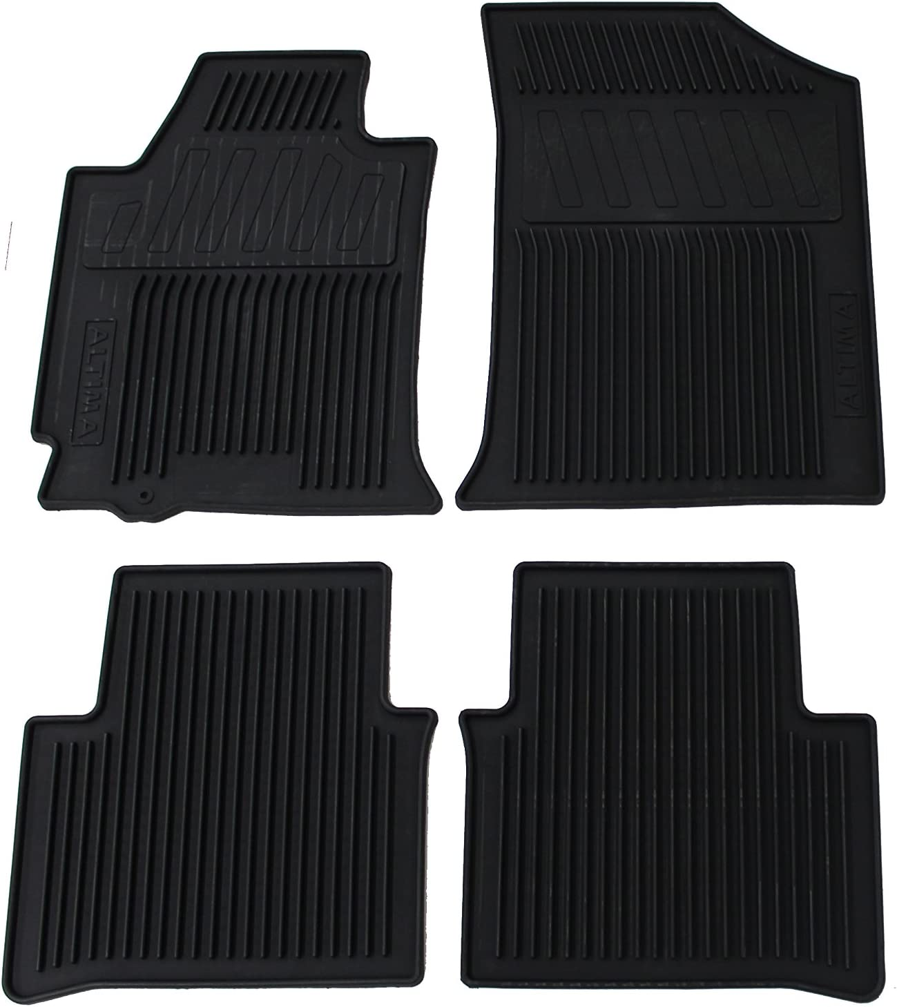 Genuine Nissan Floor Mats Carpet 999E2-UUC00BK