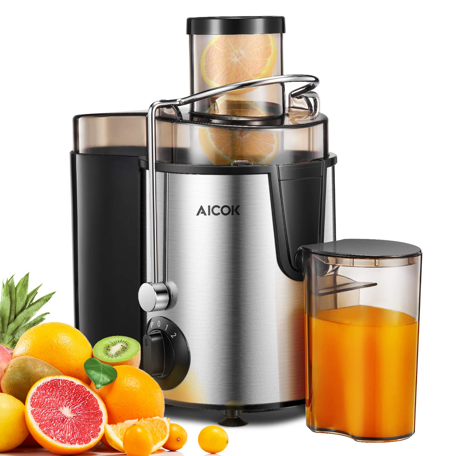 Juicer Aicok Centrifugal Juicer with Wide Mouth