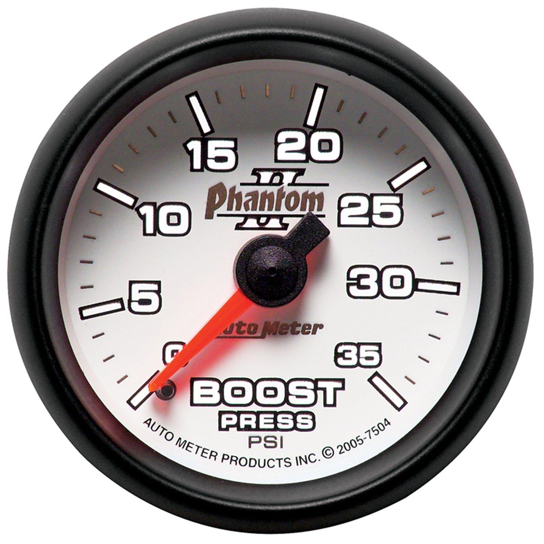 B00142X1CW Auto Meter 7504 Phantom II Mechanical Boost Gauge 71OUfXxYyKL._SL1500_
