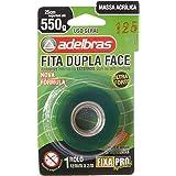 Fita Dupla Face, Fixa Pro Massa Acrilica, 12mmX2mts, Adelbras
