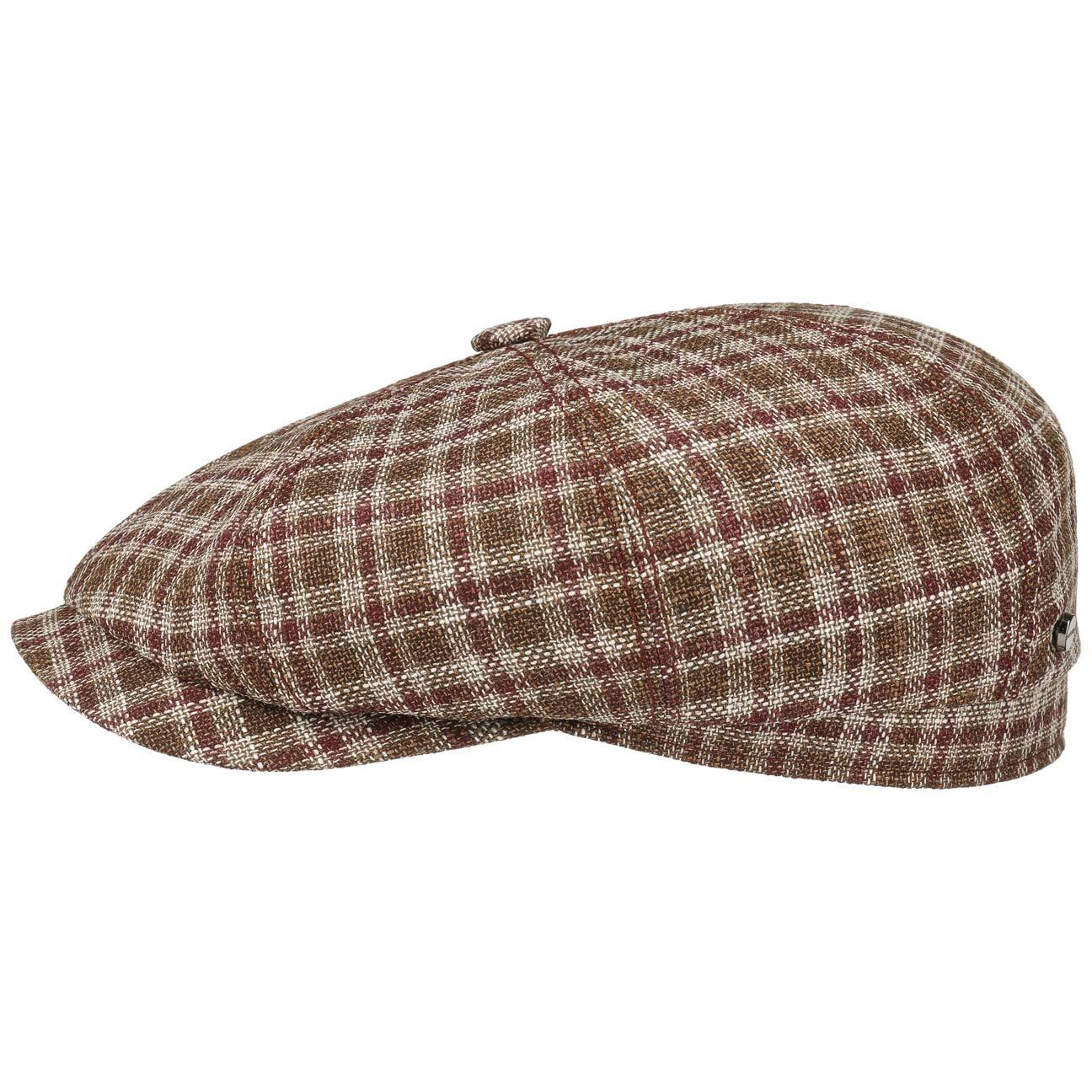 3bb6fd716 Stetson Hatteras Cerruti Quadri Flat Cap Men | Made in Germany Wool ...