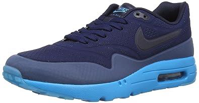 NIKE Air Max 1 Ultra Moire, Chaussures de Course Homme, Bleu/Menthe (