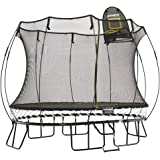 Springfree Trampoline - 8x11ft Medium Oval Trampoline With Basketball Hoop and Ladder