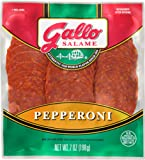 Gallo Salame Deli Sliced Pepperoni 7 oz Package (Pack of 2)