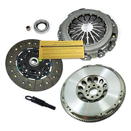 Amazon.com: EFT HEAVY-DUTY CLUTCH KIT +CHROMOLY FLYWHEEL for NISSAN 350Z INFINITI G35 VQ35DE: Automotive