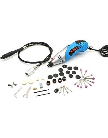 Fixtec Mini amoladora eléctrica Advanced Professional Kit de herramientas rotatorias multifunción con 40 accesorios Velocidad variable