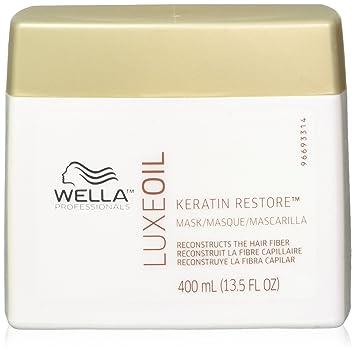 Wella Luxeoil Keratin Restore Mask, 13.5 Ounce