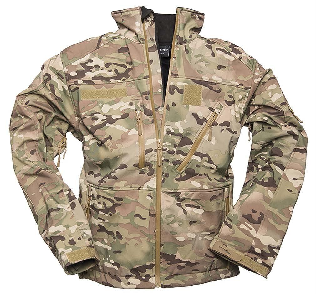 Mil-Tec Mens Softshell Jacket SCU 14 Multitarn