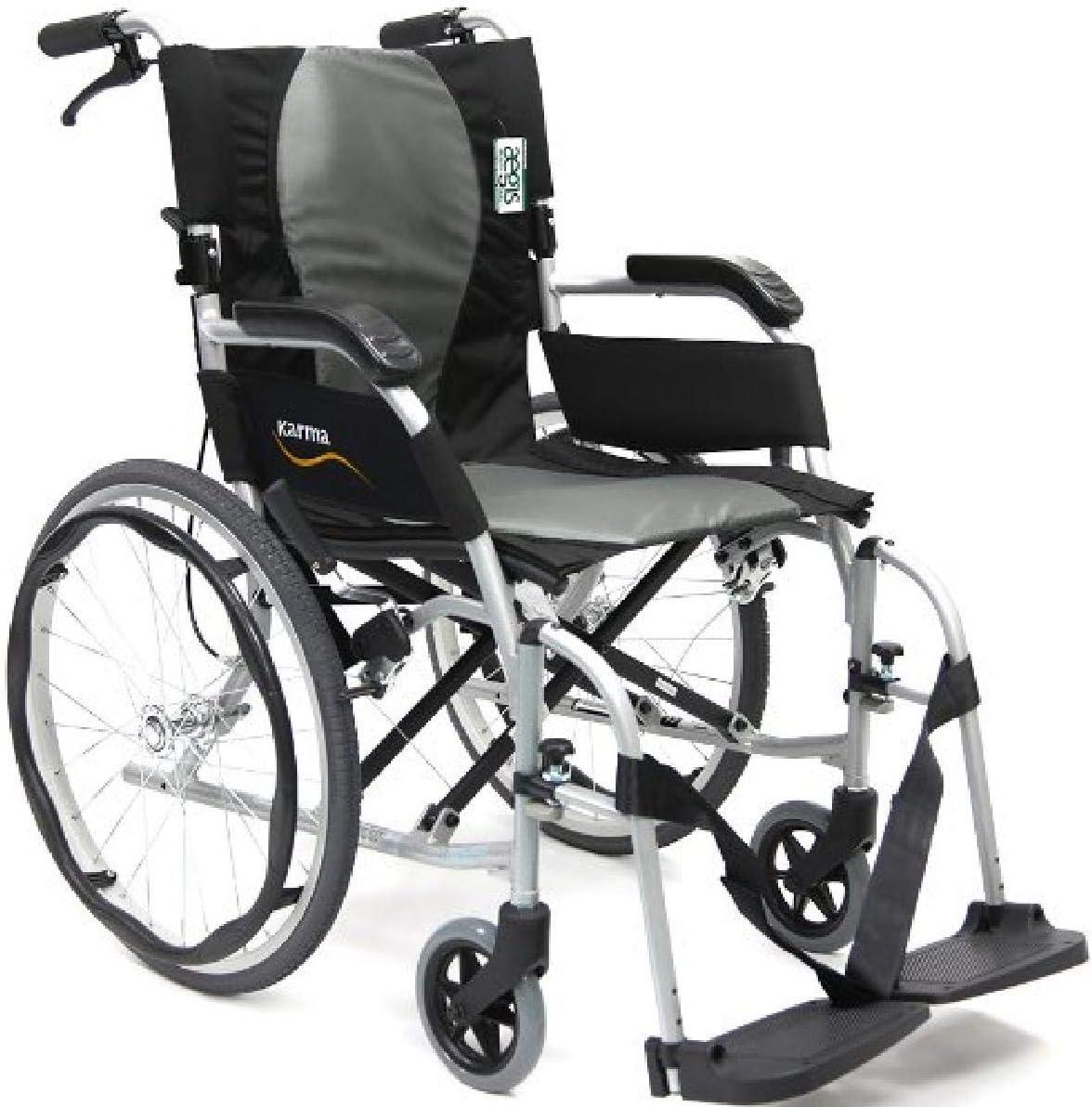 5. Karman Ultra Lightweight Wheelchair 19.8 lbs