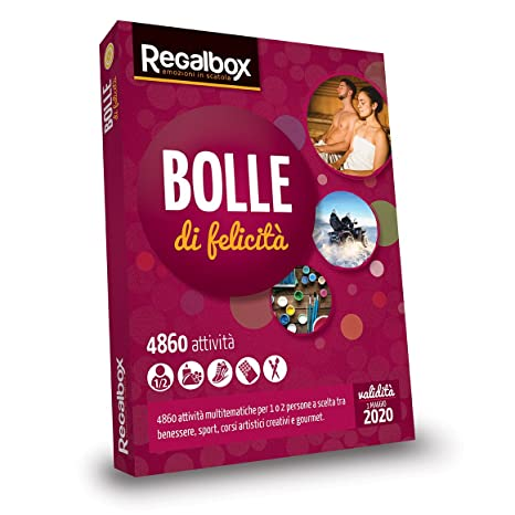 Regalbox - Bolle di felicità 2018 - Cofanetto regalo: Amazon.it ...