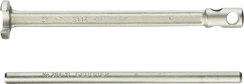 Gedore DS 3114 16 Llave de pie bifurcado con pasador 16 mm