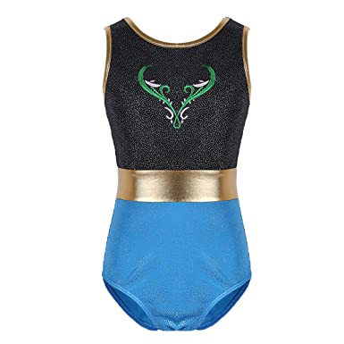 Amazoncom Chictry Girls Dance Gymnastics Swimming Mermaid Tank