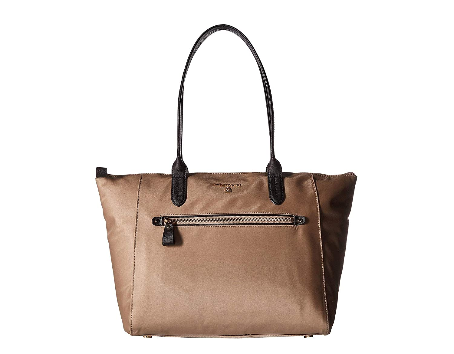 71fcc1c66ee5 Michael Kors Kelsey Large Nylon Tote- Truffle  Amazon.in  Clothing    Accessories