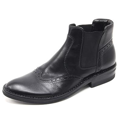 Uomo Taurus Nero B5976 Stivaletto Boot Shoe Man39 Polacchino EIYWD2H9